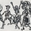 <em/>People I meet<em>, 1972. Ink on paper, 43 x 61 cm</em>