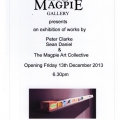 Magpie-Gallery-Invitation -December 2013