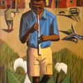Clarke - Boy with flute