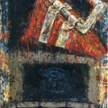 Painting with Blanket, 1993