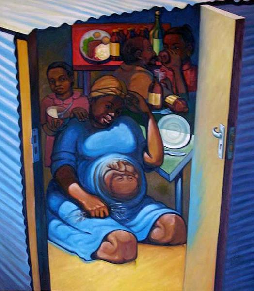 Richard Bollers - A woman's plight