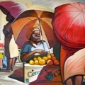 Richard Bollers - The orange seller