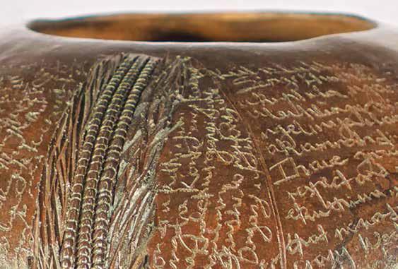 My voice_ A book of love Izwi Lami_ Incwadi yothando. Ceramics. 20x26.5cm (detail)
