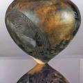 Emancipation of Self True Liberation Decoding the Past. Ceramics. 34x36cm