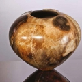 It looks like a girl_Ufana nento-embazane. Ceramics. 25x27cm