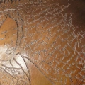 Relebohile Lepheana. Ceramics. 31x26cm (detail)
