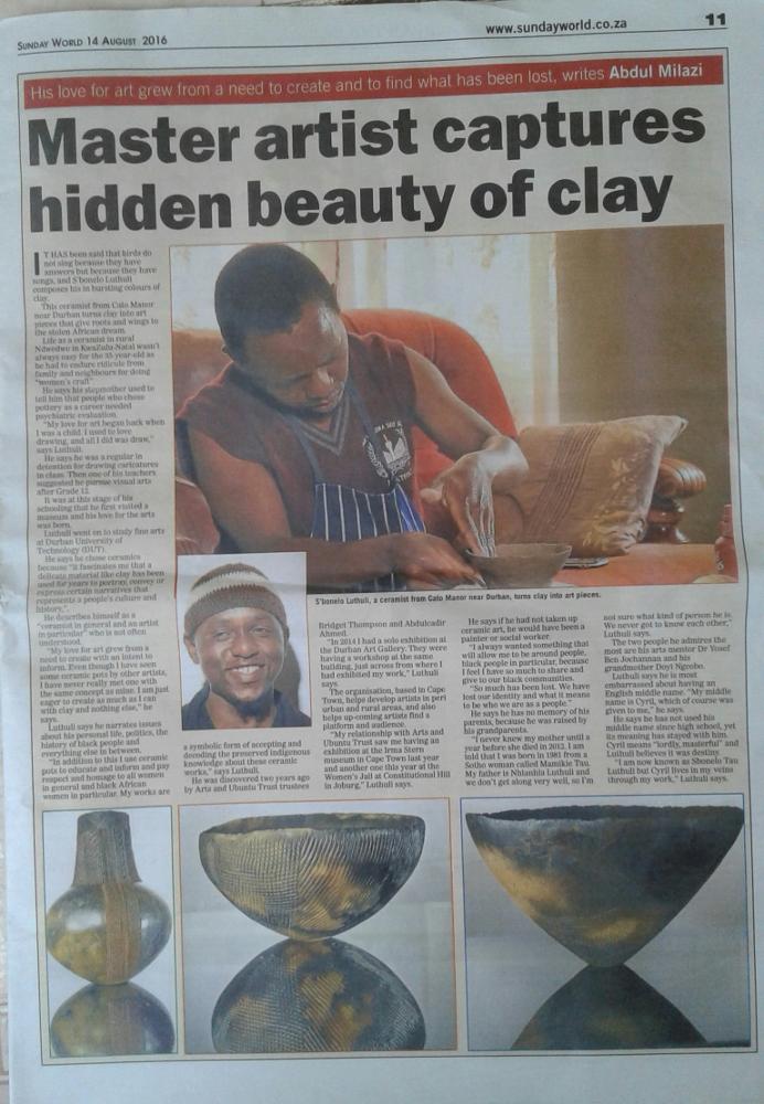 Master artist captures hidden beauty of clay
