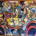 Bassline, 2002. Oil on canvas