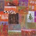 <em>Homage to the Mothers</em>, 1988. Oil Pastel on paper. 64 x 91 cm