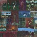 <em>Letters to my Child</em>, 1987. Oil pastel on paper