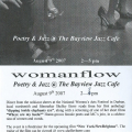 Womanflow invitation, 2007.