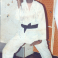 Sophie, the karate black belt