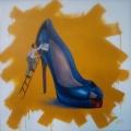 <em>My Property</em>. 2011. Acrylic paint on canvas. 150x150cm