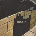 <em>The Black Bath Tub</em>, 2013. Acrylic on board, 54 x 36 cm (Image courtesy of DAG)