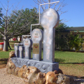 Escultura Monumental Sasol, Gráfico de Crescimento, 2012,