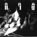 Hope from Home: Somalians in mosque, 1996. Photographic print