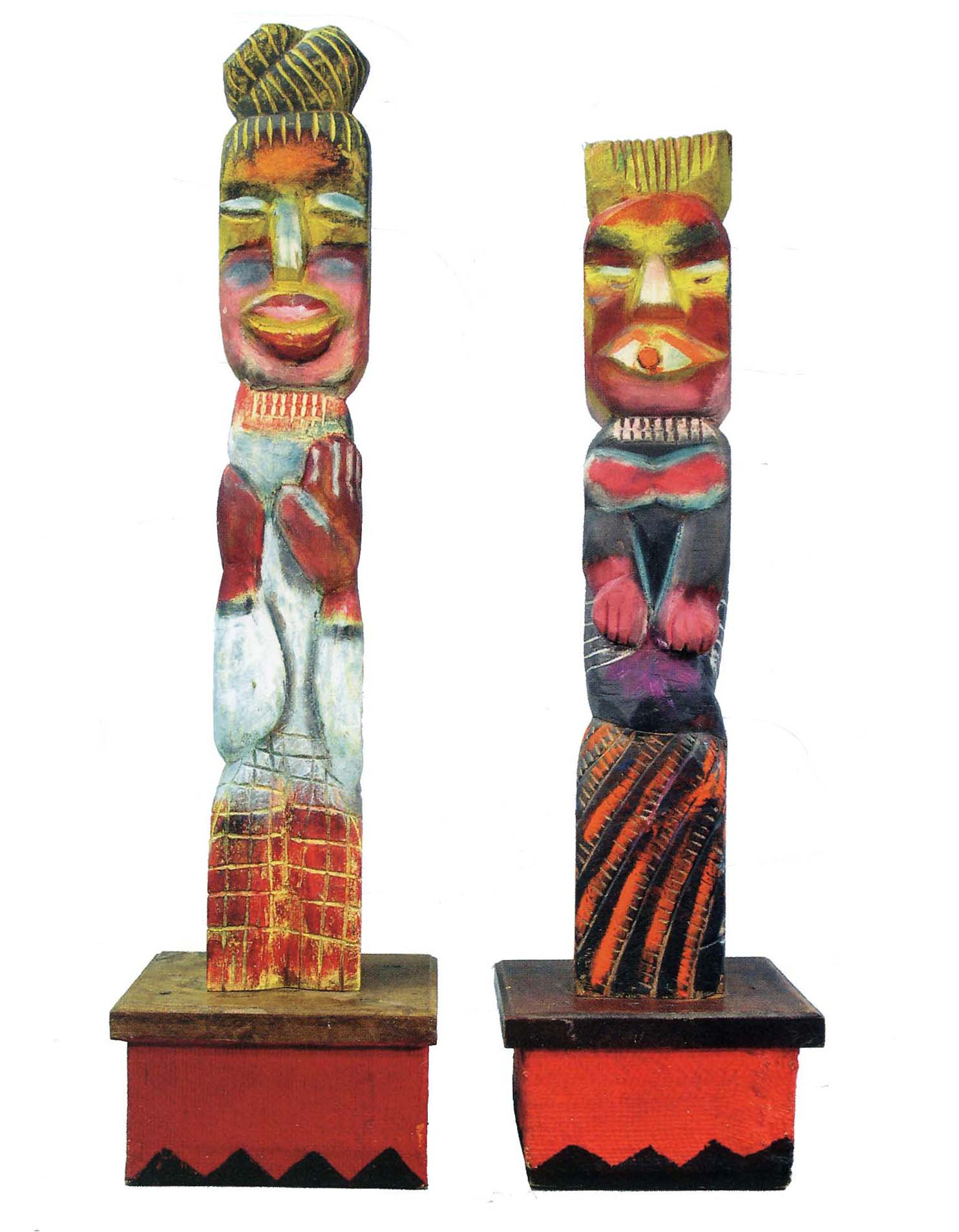 Man and Woman of Masiphumelele, 1994