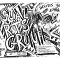 Visual Arts Group Exhibition invite, 7 September 1992.
