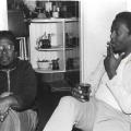 Vakalisa - Lionel Davis and unidentified associate (photo: courtesy Mervyn Davids)