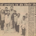 Vakalisa - ?Local artists to do their thing?, Cape Herald, 1982