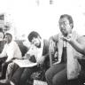 Vakalisa - Unidentified associate, Keith Adams and Lionel Davis (photo: courtesy Mervyn Davids)