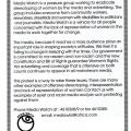 Women's Mediawatch pamphlet