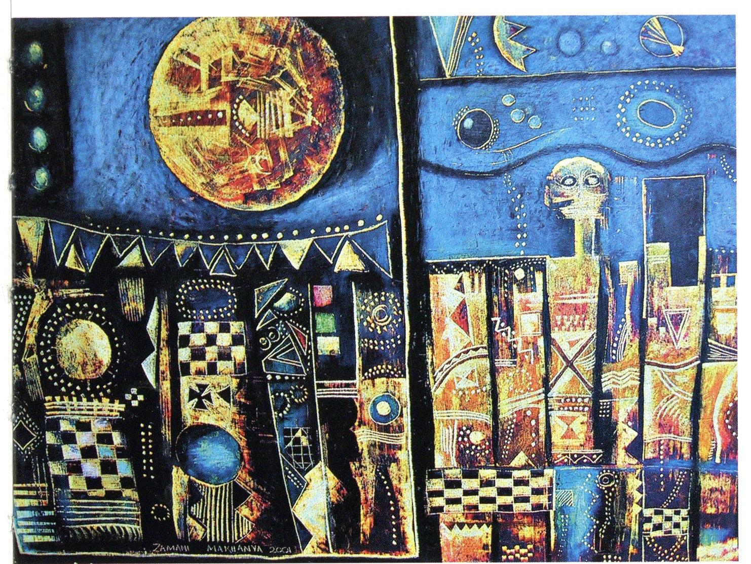<em>Untitled,</em> Oil pastel, 2003