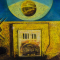 <em>Divine Intervention</em>, 2003. Oil pastel on paper, 60 x 85 cm. Collection: Durban Art Gallery