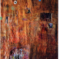 <em>Untitled</em>, mixed media on canvas, 2000