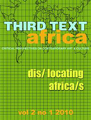 Third Text Africa -  Dislocating Africas