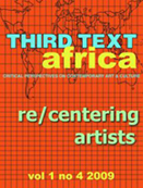 Third text Africa - Recentering artists