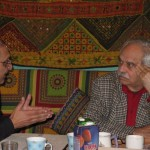 Meeting with Rasheed Araeen