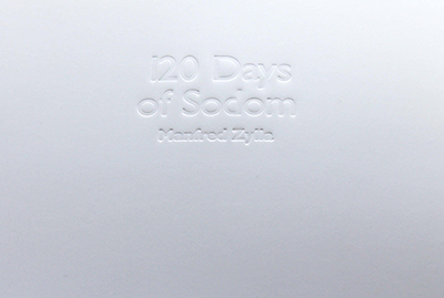 Manfred Zylla -  120 Days of Sodom 2 - smaller