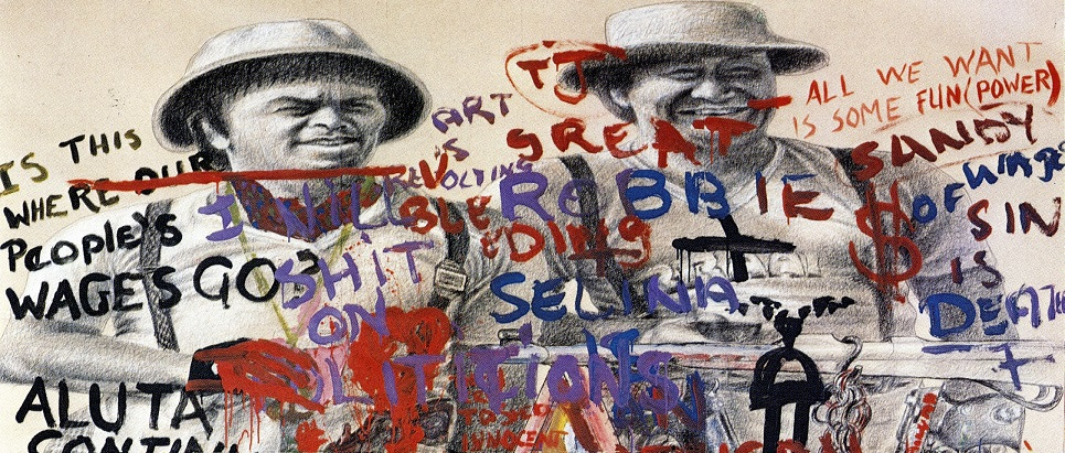 1982-Interaction-Mixed-media-on-paper-230x200cm